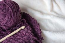 Crochet - Balls Of Thread And ...