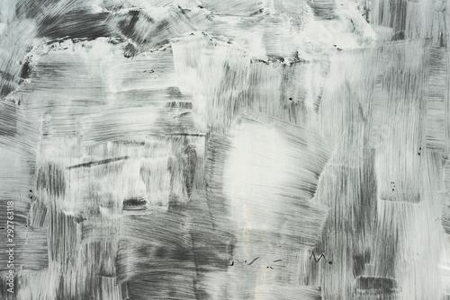 peinture blanche Wallpaper Mural