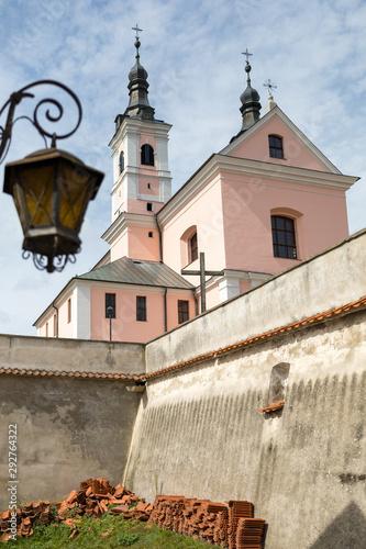 Fototapeta klasztor kresy podlasie Wigry obraz