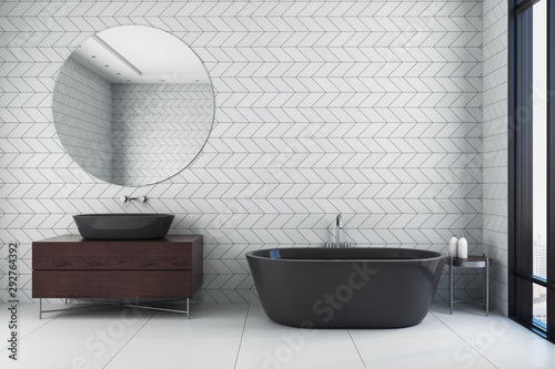 obraz PCV Clean bathroom interior
