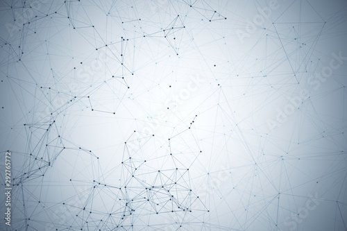 Creative polygonal backdrop - 292765772