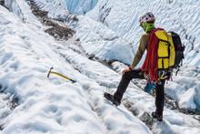 Glacier Guide Evaluating Terra...