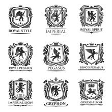 Heraldic Animals, Medieval Her...
