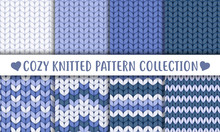 Collection Of Knitted Seamless Patterns