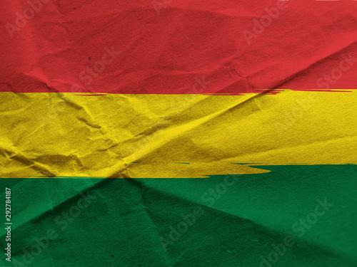 abstract BOLIVIAN flag Canvas Print