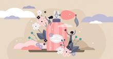 Perfume Vector Illustration. F...