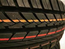 Tire Thread Patter. Car Tire T...