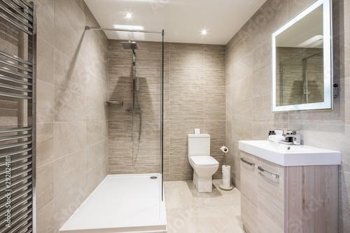 Cuadros en Lienzo  interior of modern bathroom