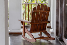 The Rocking Chair In The Backyard.