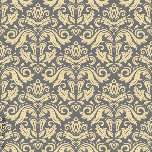 Tapety Orientalne  orient-wektor-klasyczny-zloty-wzor-bezszwowe-tlo-z-elementami-vintage-orient-szary-i-zloty-tlo-ozdoba-na-tapete-i-opakowanie