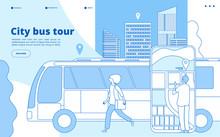 City Bus Tour. Urban Bus Excur...