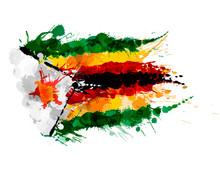 Flag Of Republic Of Zimbabwe M...