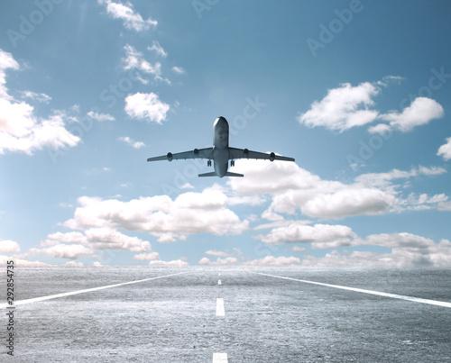 Obraz na plátne Big passenger plane