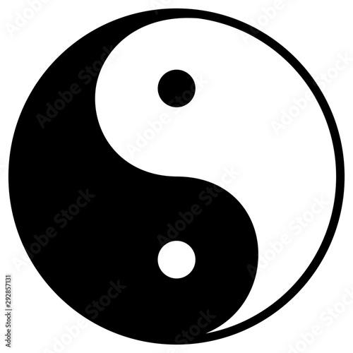 Yin yang sign Canvas-taulu