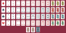 Playing Cards Vector Set. Full...