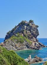 Incredible Nature Of Skopelos Island, Sporades, Greece. Mamma Mia Beach