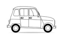 Französischer Oldtimer Auto K...