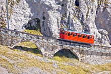Mount Pilatus Ascent On Worlds Steepest Cogwheel Railway