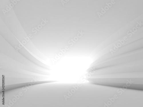 Fototapeta tunel  streszczenie-toczenia-biale-wnetrze-tunelu