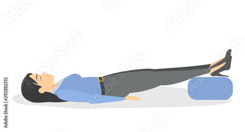 Photo Fainting first aid. What to do in emergency situation