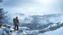 Wanderer In Winterlicher Lands...