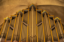 Organ In Catholic Cathedral Fo...