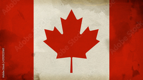 Papiers peints Canada Canada Flag Texture