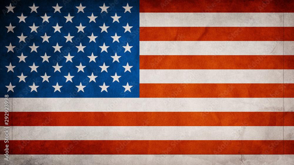 Fototapety, obrazy: Us Flag