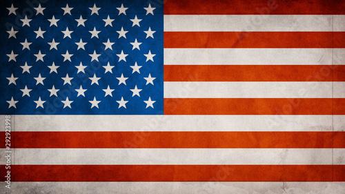 Fototapeta  Us Flag