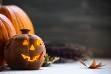 Jack O Lantern - Autumn Hallow...