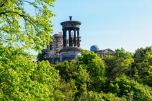 Calton Hill In Edinburgh, Scot...