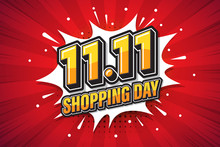 11.11 Shopping Day Font Expres...