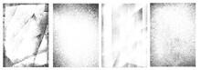 Retro Grunge White Frames Collection
