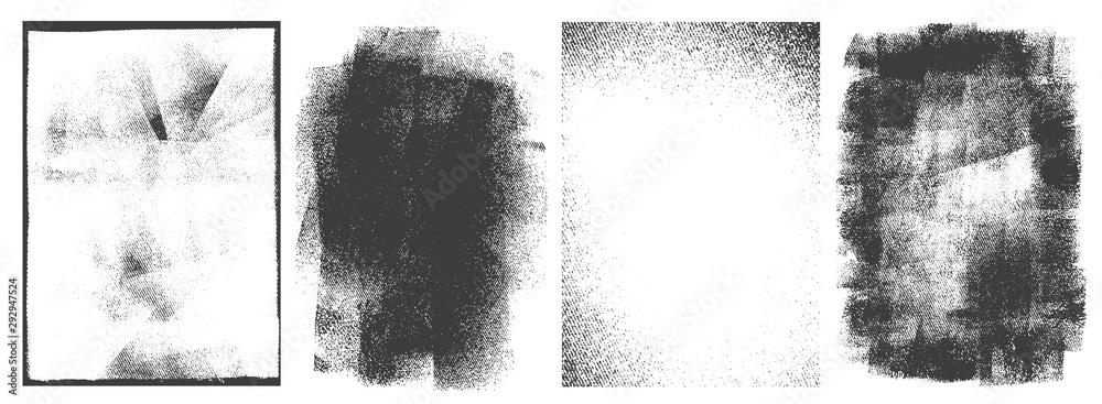 Zestaw prostokątnych ramek retro <span>plik: #292947524 | autor: DGIM studio</span>