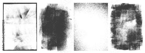 Valokuva Rectangular retro frames set