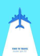 Model Plane . Banner For Trave...