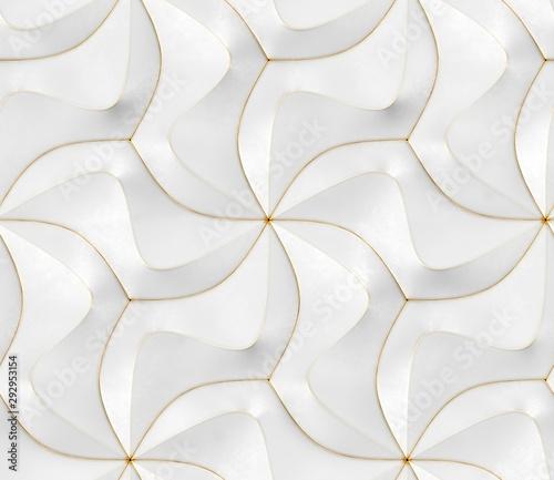 tapeta-3d-z-bialym-nowoczesnym-geometrycznym