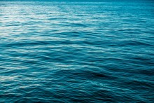 Deep Blue Sea Surface