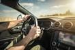 canvas print picture - Summer Road Trip Car Drive