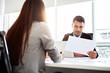 Leinwanddruck Bild - Business people meeting in the office.