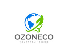 Ozone Logo Design. World Ozone...