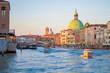 Venedig - Sonnenuntergang am Wasserkanal