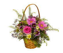 Bouquet Of Decorative Bright C...