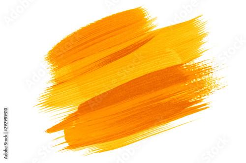 Fotografija  Watercolor painting colorful ,yellow,orange color background