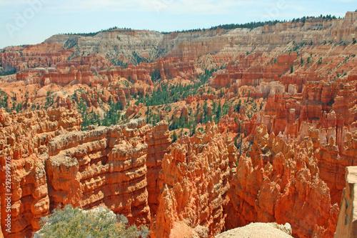 Orange landscape of Bryce Canyon, Utah