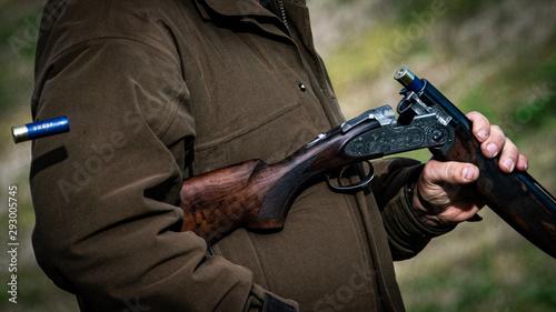 Fotografie, Obraz Shotgun Ejecting