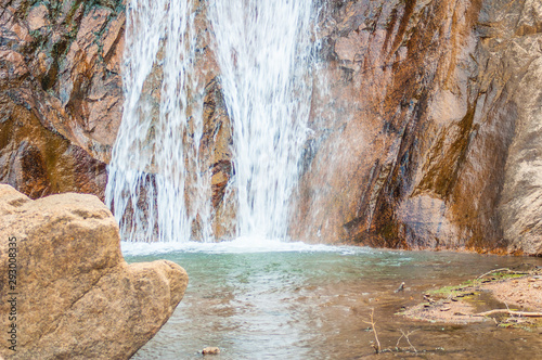 Printed kitchen splashbacks Forest river Beautiful Seven Falls Waterfall in Colorado Springs, Colorado, USA