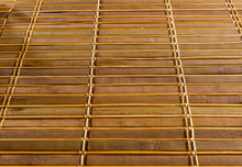 Bamboo Mat - Stand Food, Close-up, Wooden Background