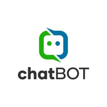 Chat Bot Chatting Logo Concept