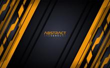 Futuristic Orange Modern Tech Abstract Background Design Template.